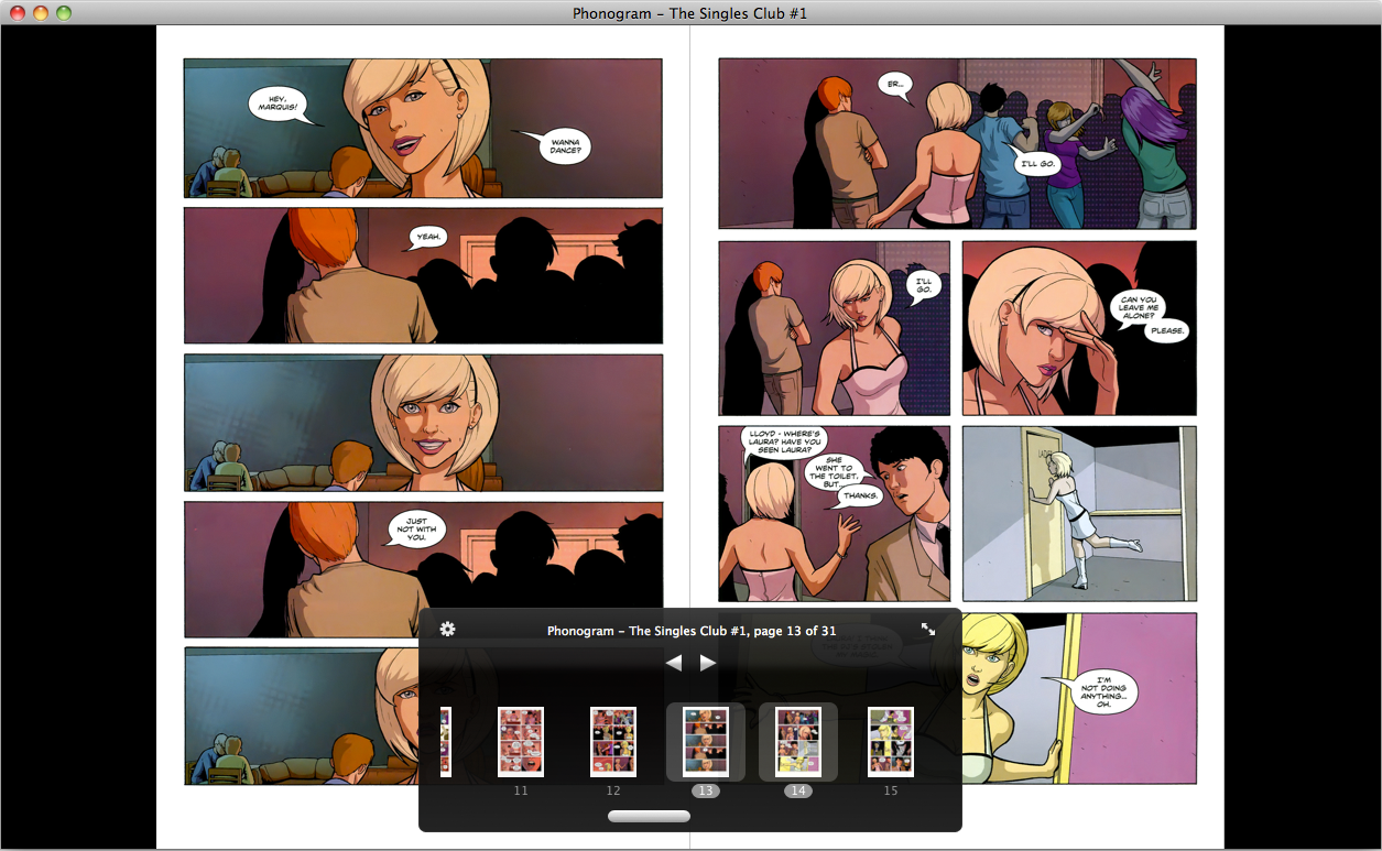 ComicNerd Comic Library and Reader app for Mac OS